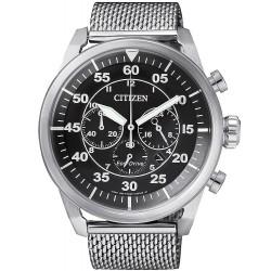 Buy Citizen Men's Watch Aviator Chrono Eco-Drive CA4210-59E