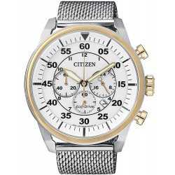 Buy Citizen Men's Watch Aviator Chrono Eco-Drive CA4214-58A