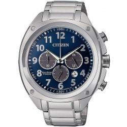 Citizen Men's Watch Super Titanium Chrono Eco-Drive CA4310-54L