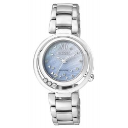 Buy Citizen Ladies Watch Eco-Drive EM0321-56D Diamonds Mother of Pearl