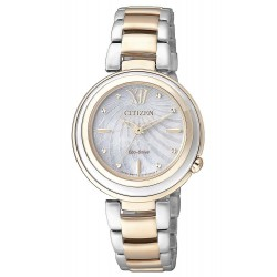 Citizen Ladies Watch Eco-Drive EM0335-51D Mother of Pearl