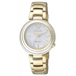 Buy Citizen Ladies Watch Eco-Drive EM0336-59D Mother of Pearl