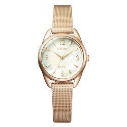 Citizen Ladies Watch Lady Eco Drive EM0686-81D Mother of Pearl