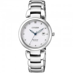 Citizen Ladies Watch Super Titanium Eco-Drive EW2500-88A Diamond