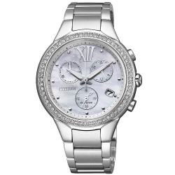Citizen Ladies Watch Chrono Eco-Drive FB1321-56A Mother of Pearl