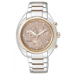 Buy Citizen Ladies Watch Chrono Eco-Drive FB1385-53W Diamonds