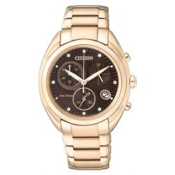 Buy Citizen Ladies Watch Chrono Eco-Drive FB1395-50W Diamonds