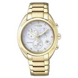 Buy Citizen Ladies Watch Chrono Eco-Drive FB1396-57A Diamonds