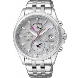 Citizen Ladies Watch Radio Controlled Eco-Drive FC0010-55D Mother of Pearl