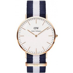 Buy Daniel Wellington Men's Watch Classic Glasgow 40MM DW00100004