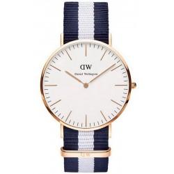 Buy Daniel Wellington Unisex Watch Classic Glasgow 36MM DW00100031