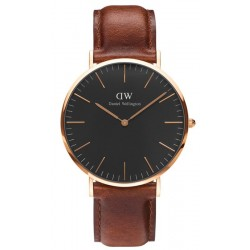 Buy Daniel Wellington Men's Watch Classic Black St Mawes 40MM DW00100124