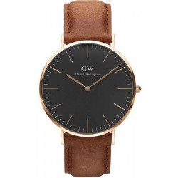 Buy Daniel Wellington Men's Watch Classic Black Durham 40MM DW00100126