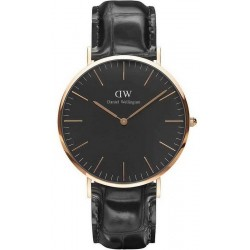 Buy Daniel Wellington Men's Watch Classic Black Reading 40MM DW00100129