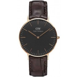 Daniel Wellington Unisex Watch Classic Black York 36MM DW00100140