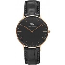 Buy Daniel Wellington Unisex Watch Classic Black Reading 36MM DW00100141