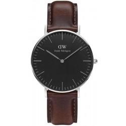 Buy Daniel Wellington Unisex Watch Classic Black Bristol 36MM DW00100143