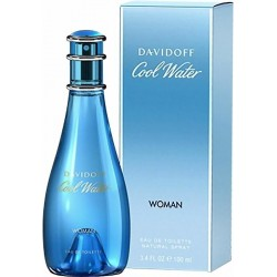 Davidoff Cool Water Perfume for Women Eau de Toilette EDT Vapo 100 ml