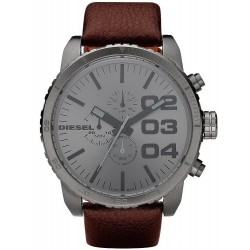 Buy Diesel Men's Watch Double Down 51 DZ4210 Chronograph