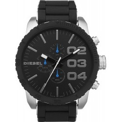 Buy Diesel Men's Watch Double Down 51 DZ4255 Chronograph