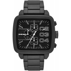Buy Diesel Men's Watch Double Down Square DZ4300 Chronograph