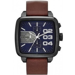 Buy Diesel Men's Watch Double Down Square DZ4302 Chronograph