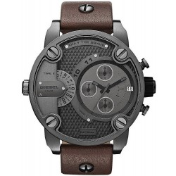 Diesel Men's Watch Little Daddy DZ7258 Dual Time Chronograph
