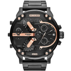 Diesel Men's Watch Mr. Daddy 2.0 DZ7312 Chronograph 4 Time Zones