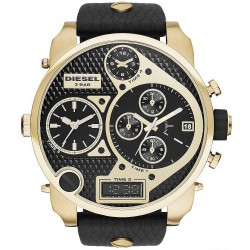 Diesel Men's Watch Mr. Daddy DZ7323 Chronograph 4 Time Zones