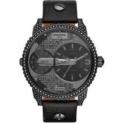 Buy Diesel Unisex Watch Mini Daddy DZ7328 Dual Time