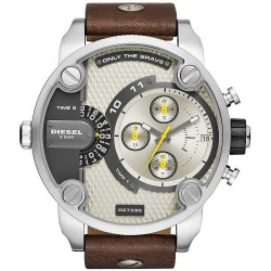 Diesel Men's Watch Little Daddy DZ7335 Dual Time Chronograph