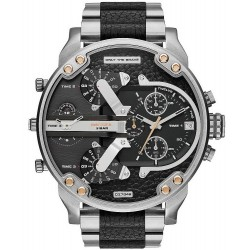 Diesel Men's Watch Mr. Daddy 2.0 DZ7349 Chronograph 4 Time Zones