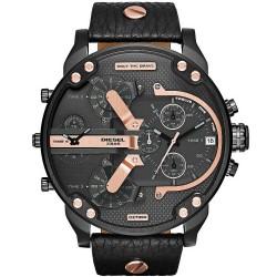 Diesel Men's Watch Mr. Daddy 2.0 DZ7350 Chronograph 4 Time Zones