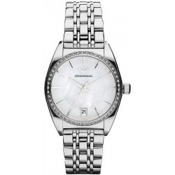 Buy Emporio Armani Ladies Watch Franco AR0379 Mother of Pearl