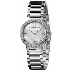 Buy Emporio Armani Ladies Watch Classic AR0746 Mother of Pearl