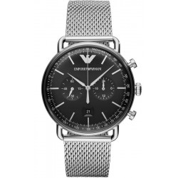 Emporio Armani Men's Watch Aviator AR11104 Chronograph