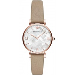 Buy Emporio Armani Ladies Watch Gianni T-Bar AR11111 Mother of Pearl