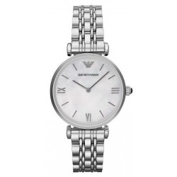 Buy Emporio Armani Ladies Watch Gianni T-Bar AR1682 Mother of Pearl