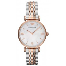 Buy Emporio Armani Ladies Watch Gianni T-Bar AR1683 Mother of Pearl