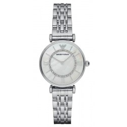 Buy Emporio Armani Ladies Watch Gianni T-Bar AR1908 Mother of Pearl