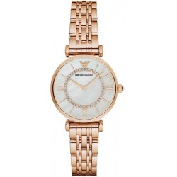 Buy Emporio Armani Ladies Watch Gianni T-Bar AR1909 Mother of Pearl