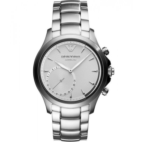 Buy Emporio Armani Connected Men's Watch Alberto ART3011 Hybrid Smartwatch