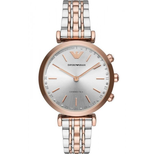Buy Emporio Armani Connected Ladies Watch Gianni T-Bar ART3019 Hybrid Smartwatch