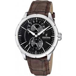 Festina Men's Watch Retro F16573/4 Quartz Multifunction
