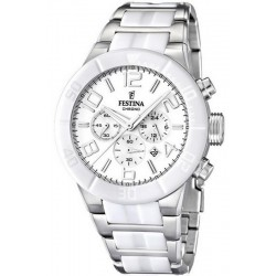 Buy Festina Men's Watch Ceramic F16576/1 Quartz Chronograph