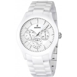 Buy Festina Men's Watch Ceramic F16639/1 Quartz Multifunction