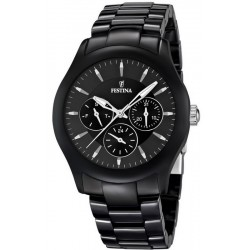 Buy Festina Men's Watch Ceramic F16639/2 Quartz Multifunction