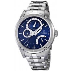 Festina Men's Watch Elegance F16669/2 Quartz Multifunction