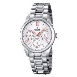Buy Festina Ladies Watch Boyfriend F16869/1 Quartz Multifunction