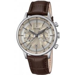 Festina Men's Watch Retro F16893/7 Chronograph Quartz